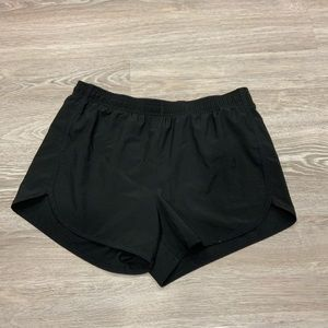 Athletic Works | Black running shorts